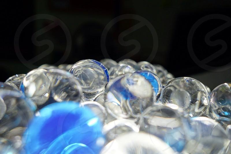 Reflection of crystal ball  photo