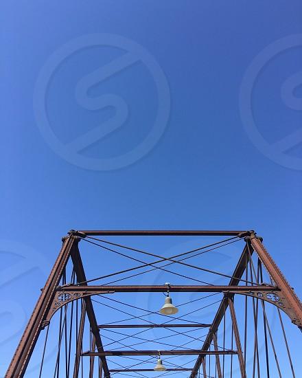 bridge San Antonio Sky blue hays street bridge structure photo