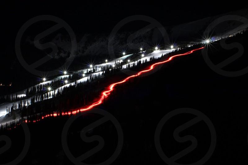 Torch Light Parade                             Schweitzer Mountain Resort Sandpoint Idaho photo