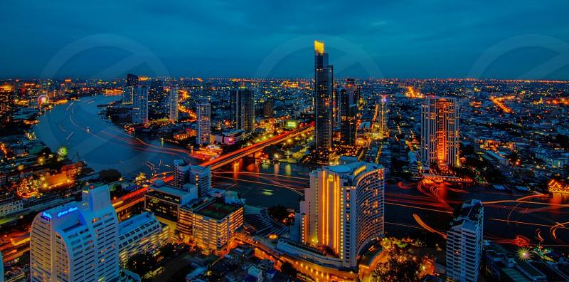 Bangkok By Night photo