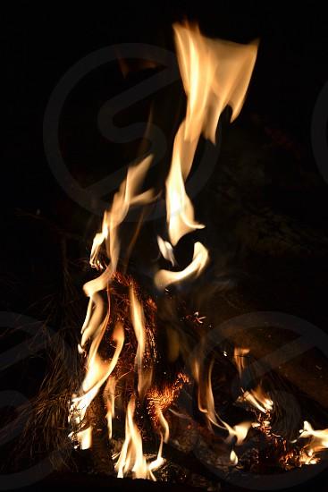 Fire flame photo