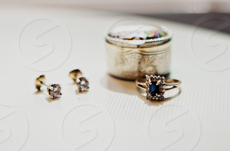 blue gem ring photo