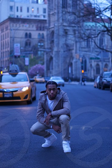 Nyc christian rapper street fashion street photography sony alpha 50mm  photo