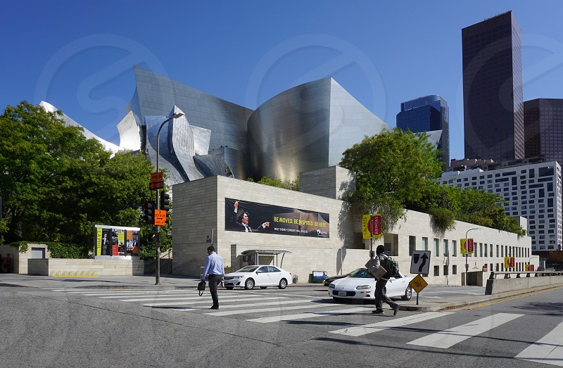 Walt Disney Concert Hall - Los Angeles CA photo