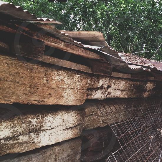 brown wood photo
