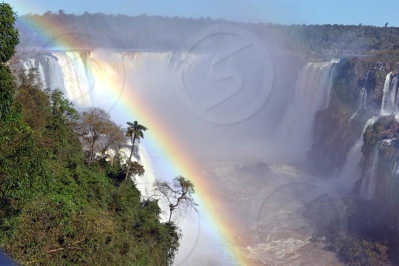 Cataratas del Iguazú arcoiris rainbow photo