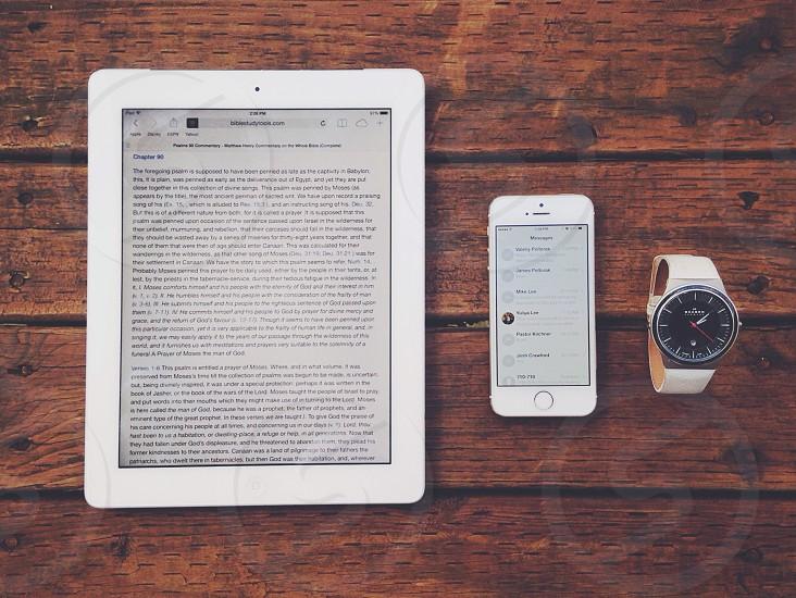 The essentials.  photo