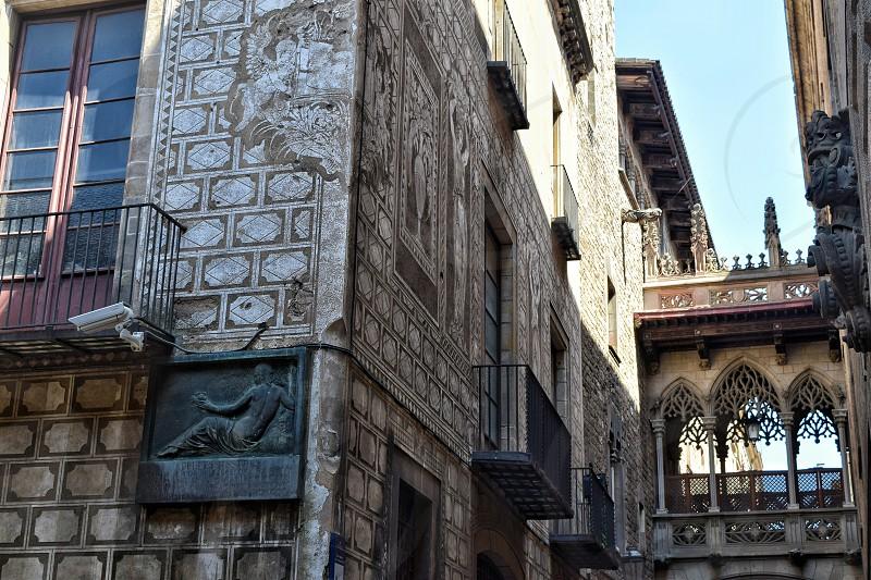 Gothic Quarter in Barcelona photo