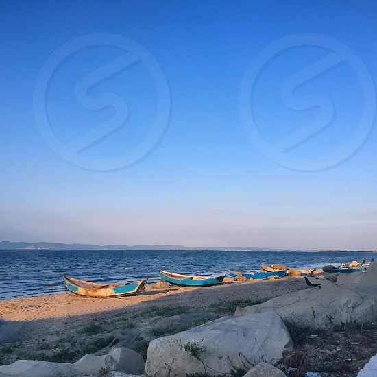 Some #boats on the #beach photo