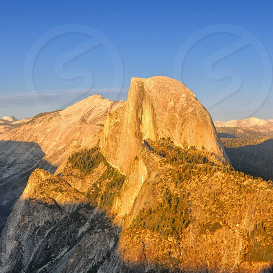 Half dome of Yosemite national park photo