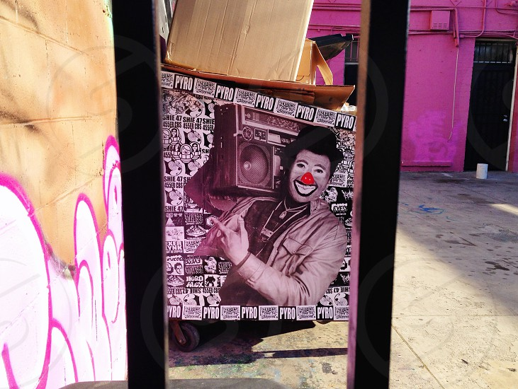 Graffiti Melrose Art Laughter Perspective Music Freedom photo