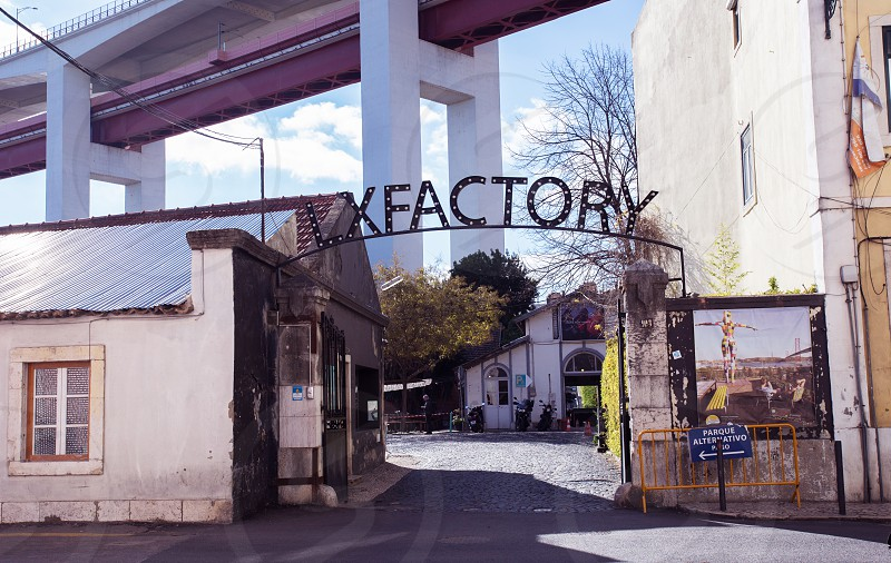 LxFactory in Lisbon Portugal photo