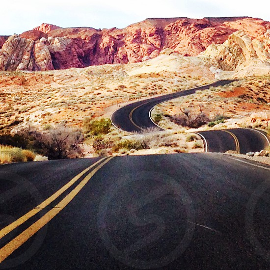 Let's the road take you from Valley of Fire State ParkNevada photo