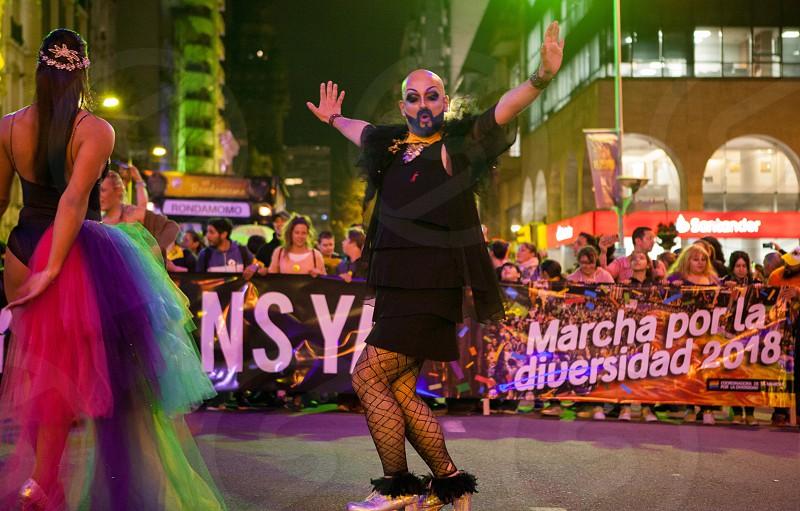 Montevideo Uruguay diversity happy pride 2018 photo