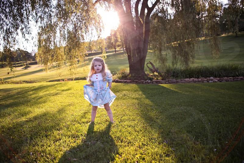 Lily in Wonderland photo