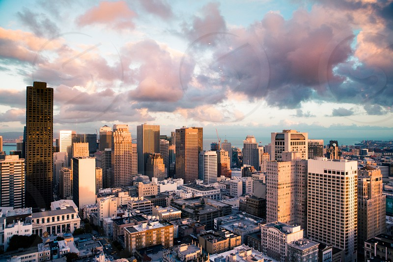 Downtown City Commute Work Busness Start Up Height Hotel  Travel Adventure Nature Light Sunset Exploration Fitness Lifestyle  California San Francisco photo