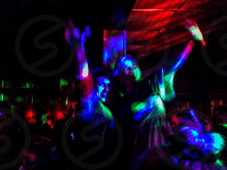 Dance party photo