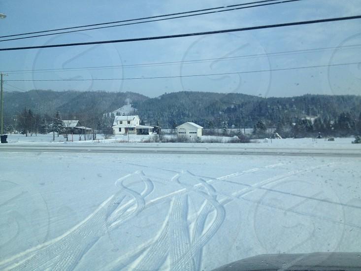 Winter in Canada photo