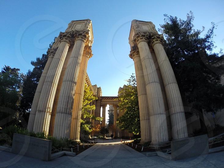 Palace of Fine Arts Pillars photo