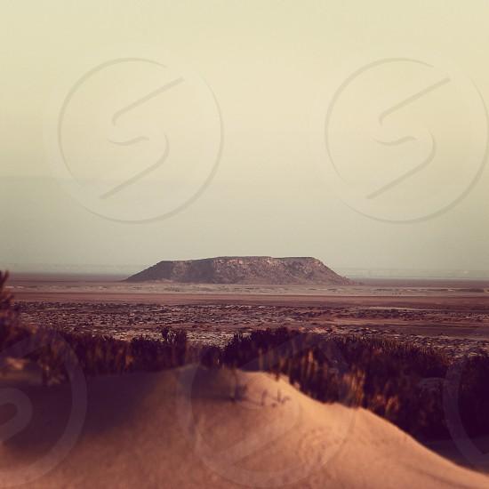 The Sahara desert  photo