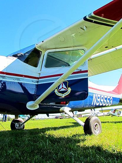 Civil Air Patrol airplane. photo