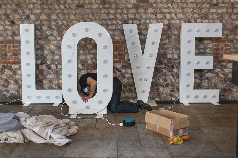 Love weddings sign love sign wedding props letters photo