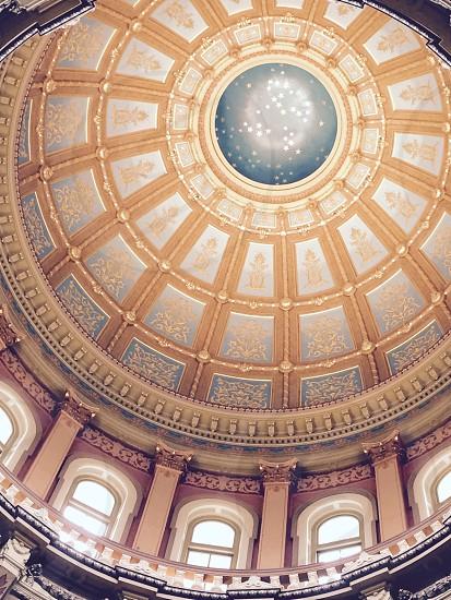 museum interior photo