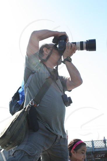 Taking Picture Friend Photographer Hobby Traveling DLSR photo