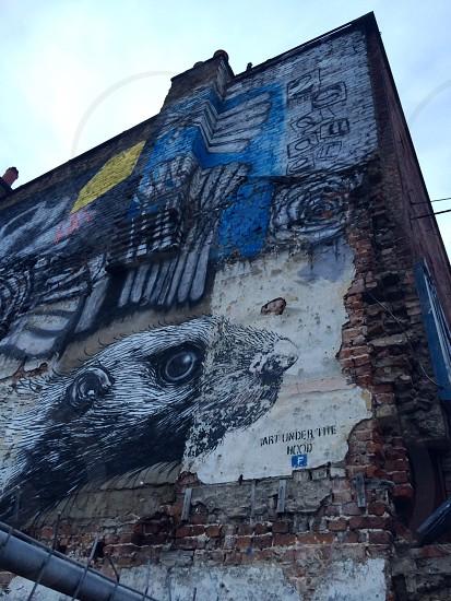 Graffiti Artwork East London photo