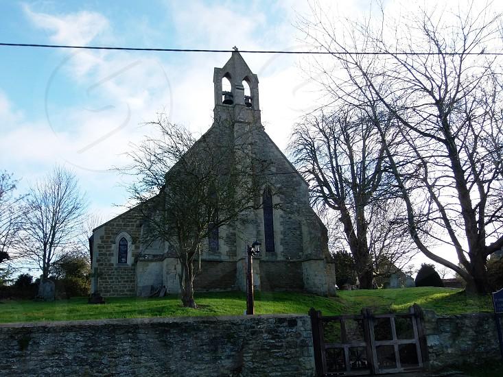 church oxfordshire england summer photo
