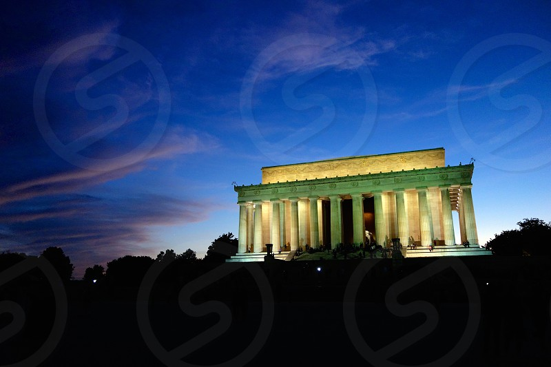 The Lincoln Memorial  photo