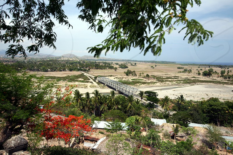 the landscape near the town of Baucau in the north of East Timor in southeastasia.