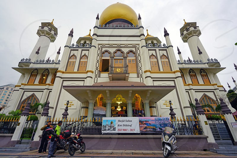 The Masjid Sultan mosque in Singapore photo