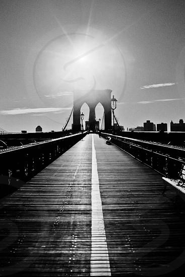 The Brooklyn Bridge New York New York photo