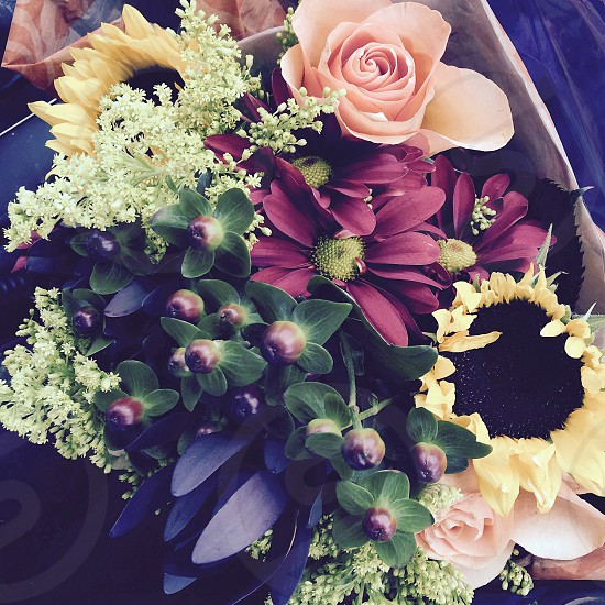 """Flowers """" Bouquet of happiness""""  photo"""
