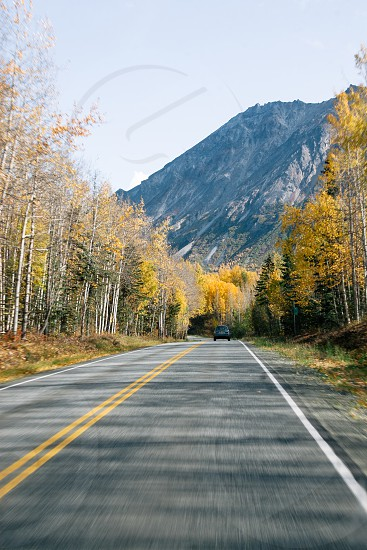 George Parks Highway Alaska photo
