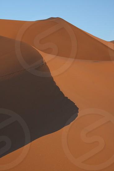 Desert Dunes  (Saraha Desert Morocco) photo