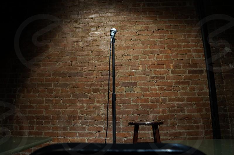 black microphone photo