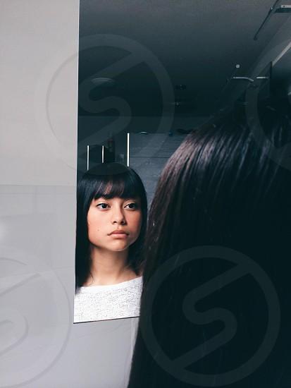Reflecting photo