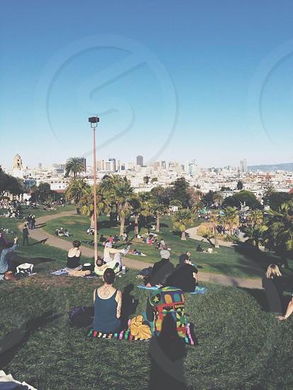 San Francisco park Delores park sfc photo