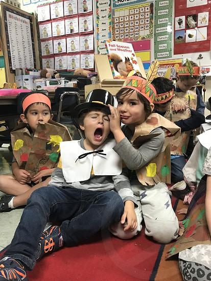Kids love school  photo