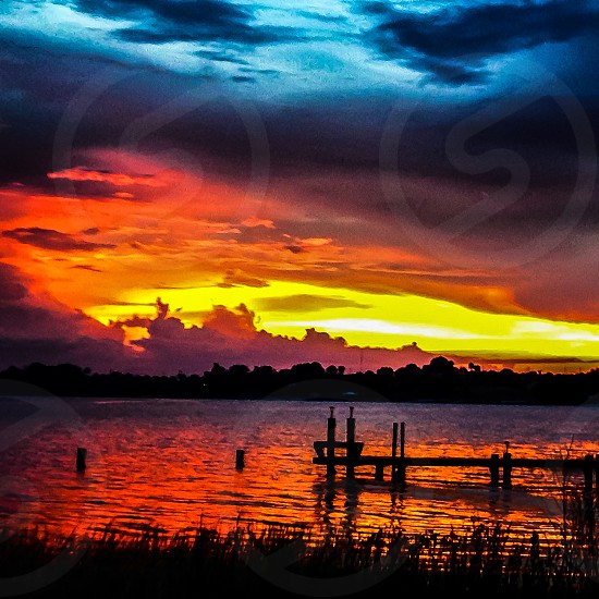 Florida sunset. photo