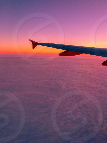 Sunrise en-route to Berlin Germany. photo