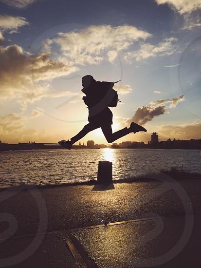 Jump up photo