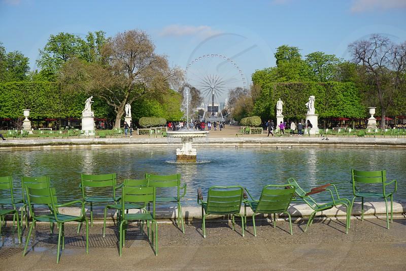 Tuileries Garden - Paris France photo