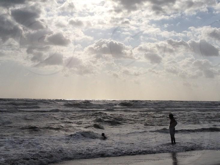 Waves after the rain (Tuscany Italy) photo