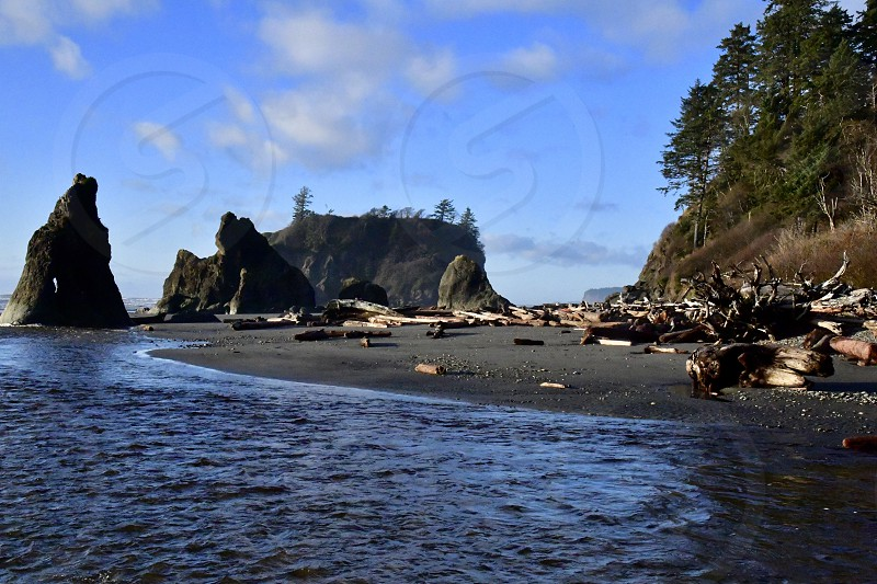 Ruby Beach Olympic National Park photo