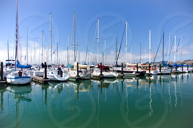 Sausalito Marina photo