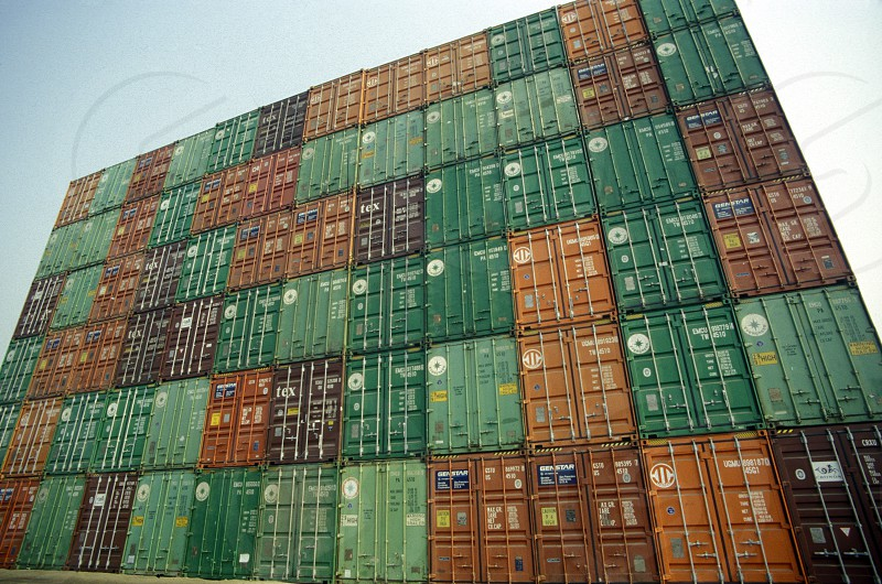 CONTAINER SHIPPING photo