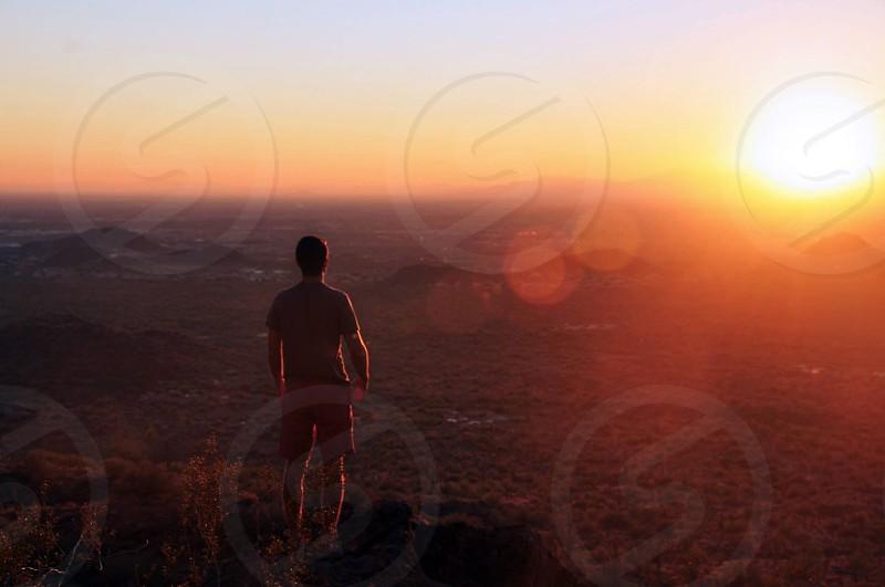 Sunrise over Arizona photo